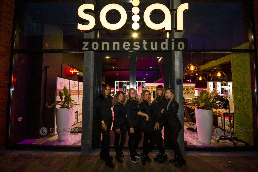 Vooraanzicht Solar Zonnestudio Middelburg