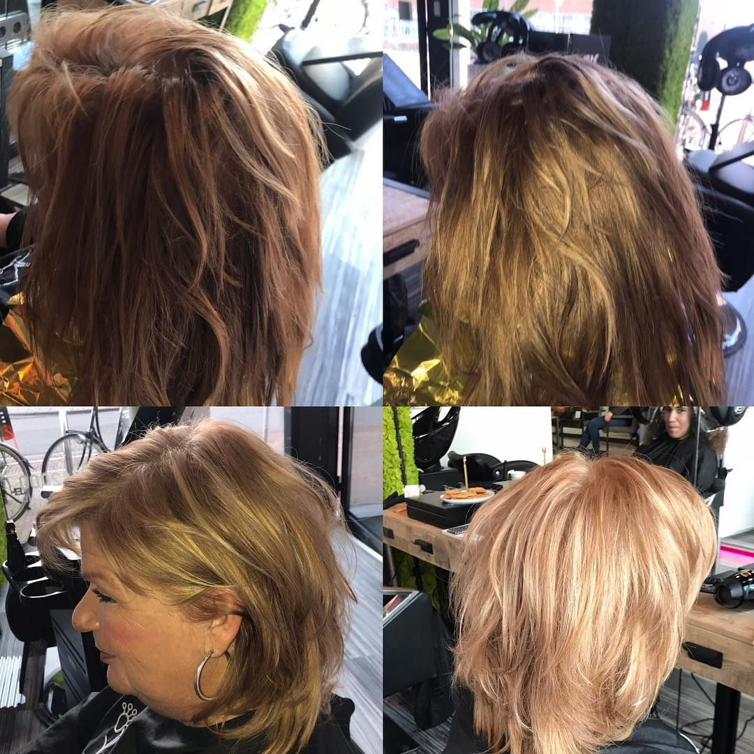 Before And after Hair treatment | solar zonnstudio